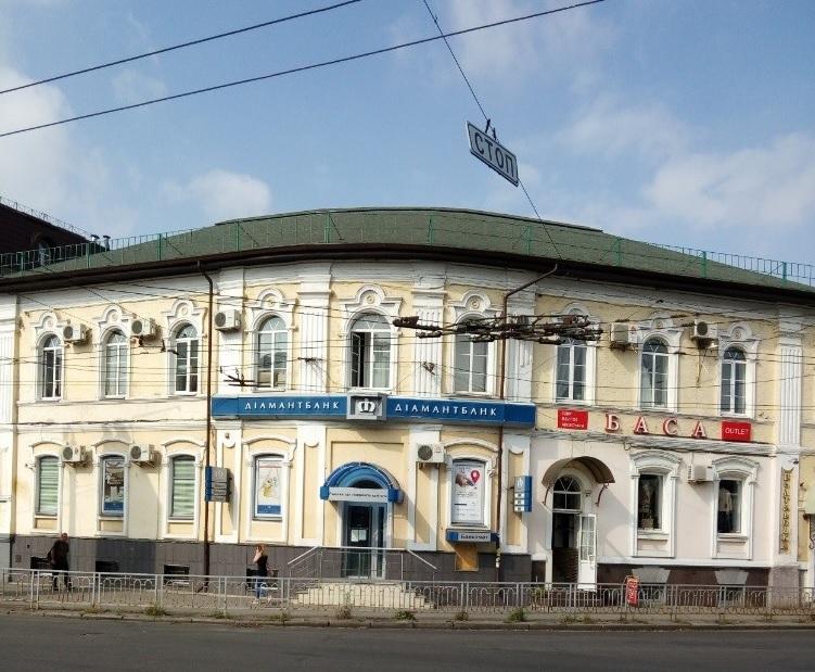 Нежитлове приміщення площею 277,6 кв. м, за адресою: м. Полтава, вул. Фрунзе, буд. 6