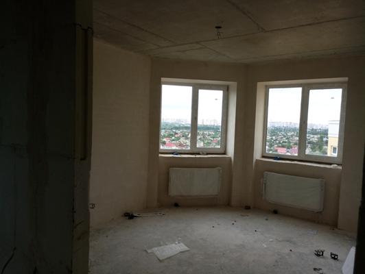 2-х кімнатна квартира загальною площею 59,6 кв.м, яка розташована за адресою: м.Київ, вулиця Харченка Євгенія, будинок 47-Б, квартира №118